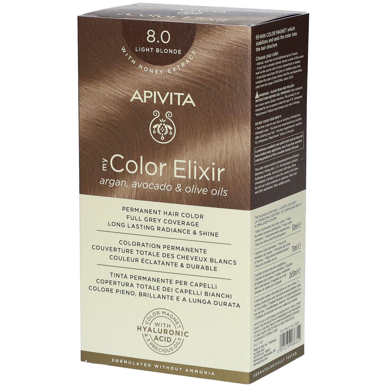 APIVITA My Color Elixir 8.0 Blond claire pc(s) élixir