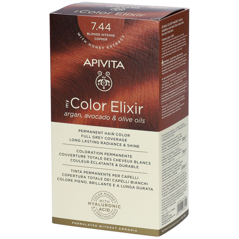 APIVITA My Color Elixir 7.44 Blond Intense Cuivre ml élixir
