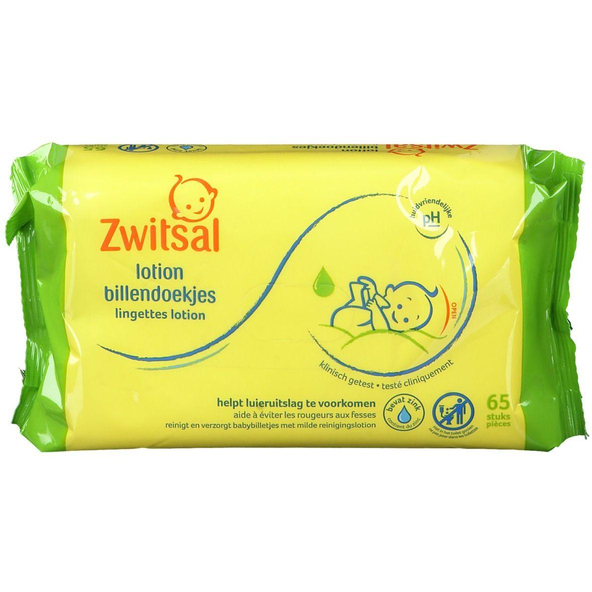 Zwitsal Lingettes lotion bébé pc(s) lingette(s)