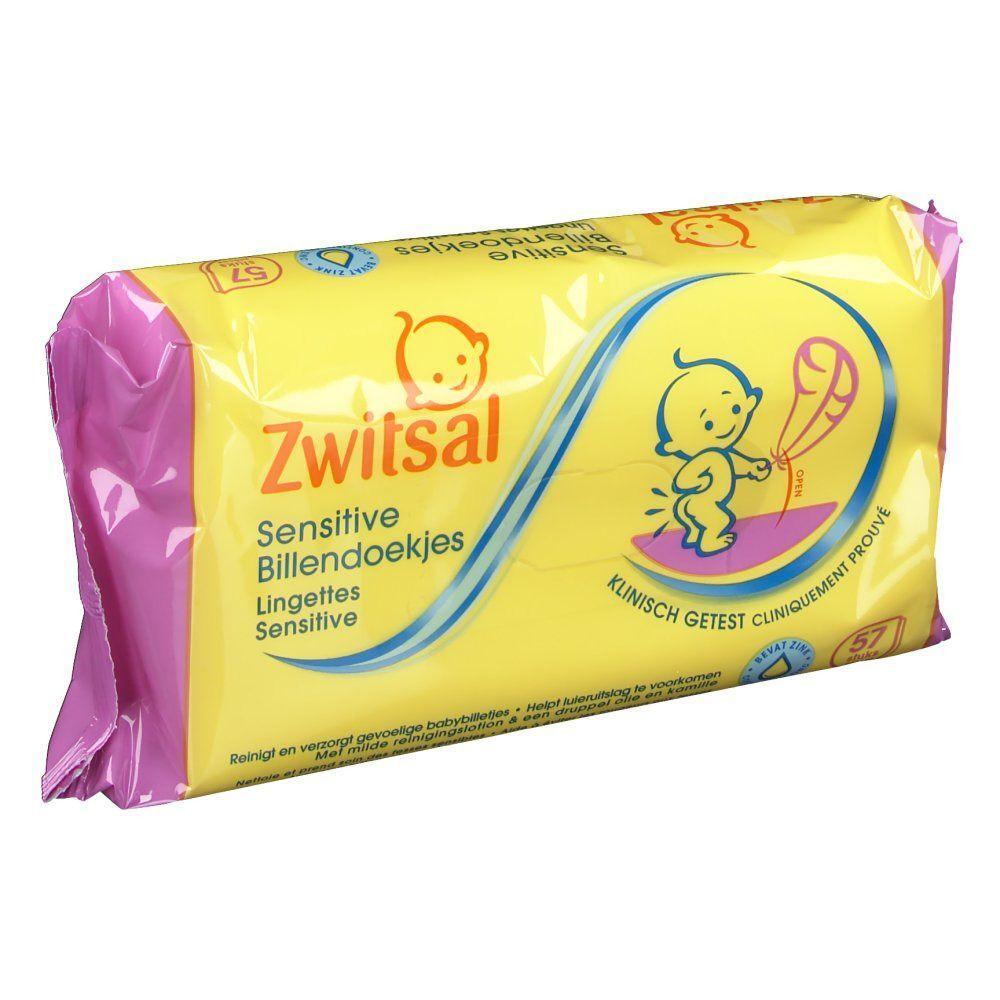 Zwitsal Lingettes sensitive bébé pc(s) lingette(s)