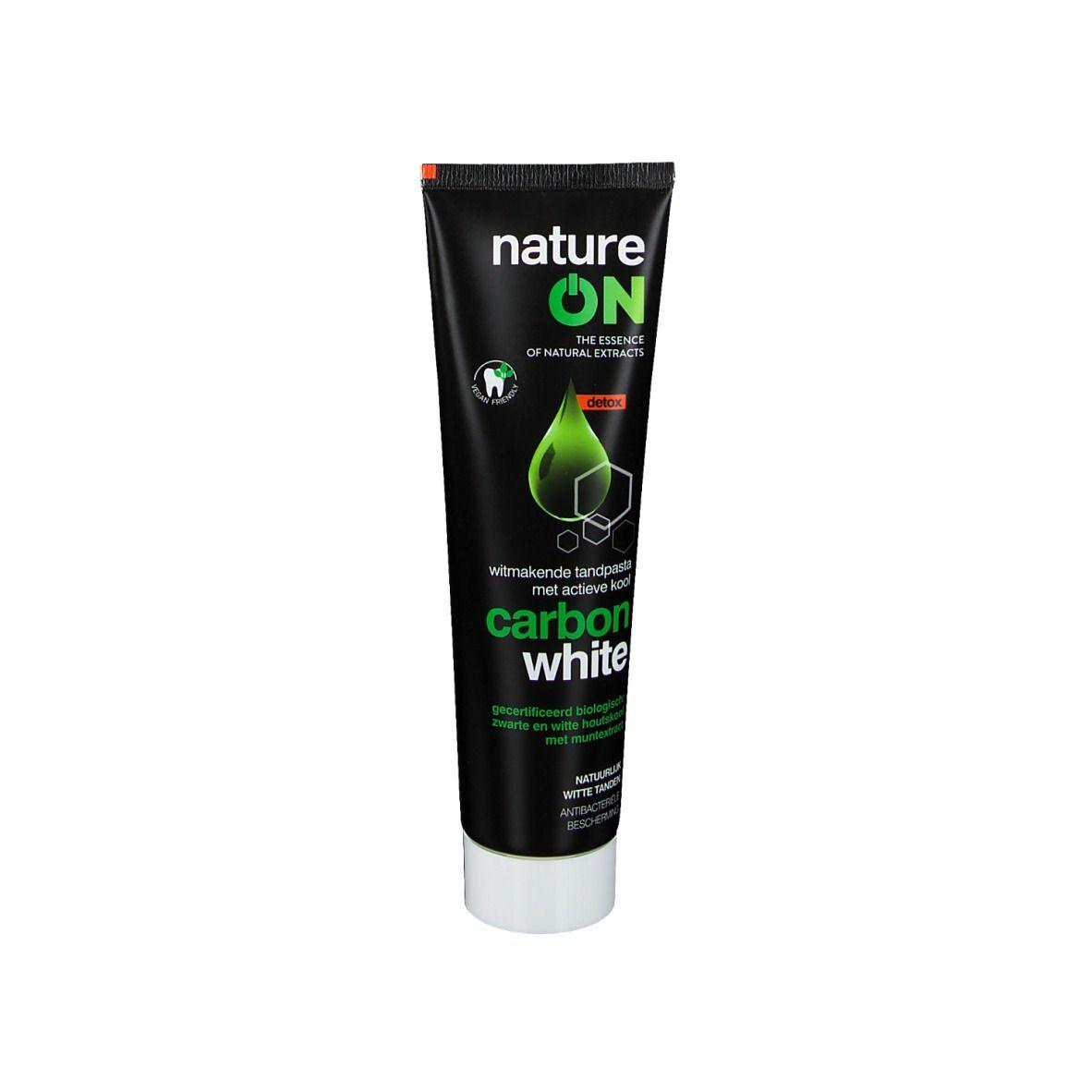 Nature On Dentifrice blanchissant au charbon actif ml dentifrice(s)