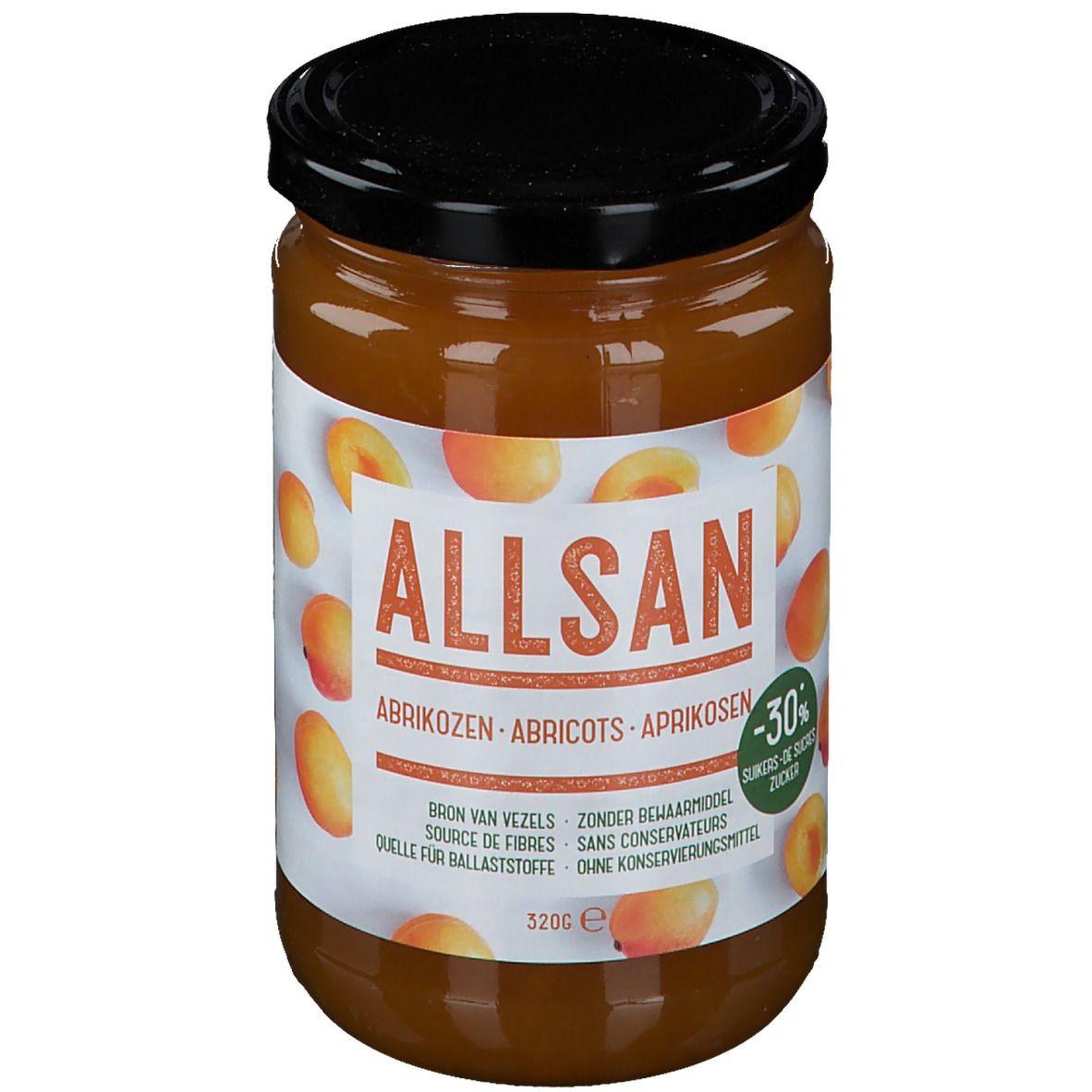 ALLSAN Pâte à tartiner Abricots g