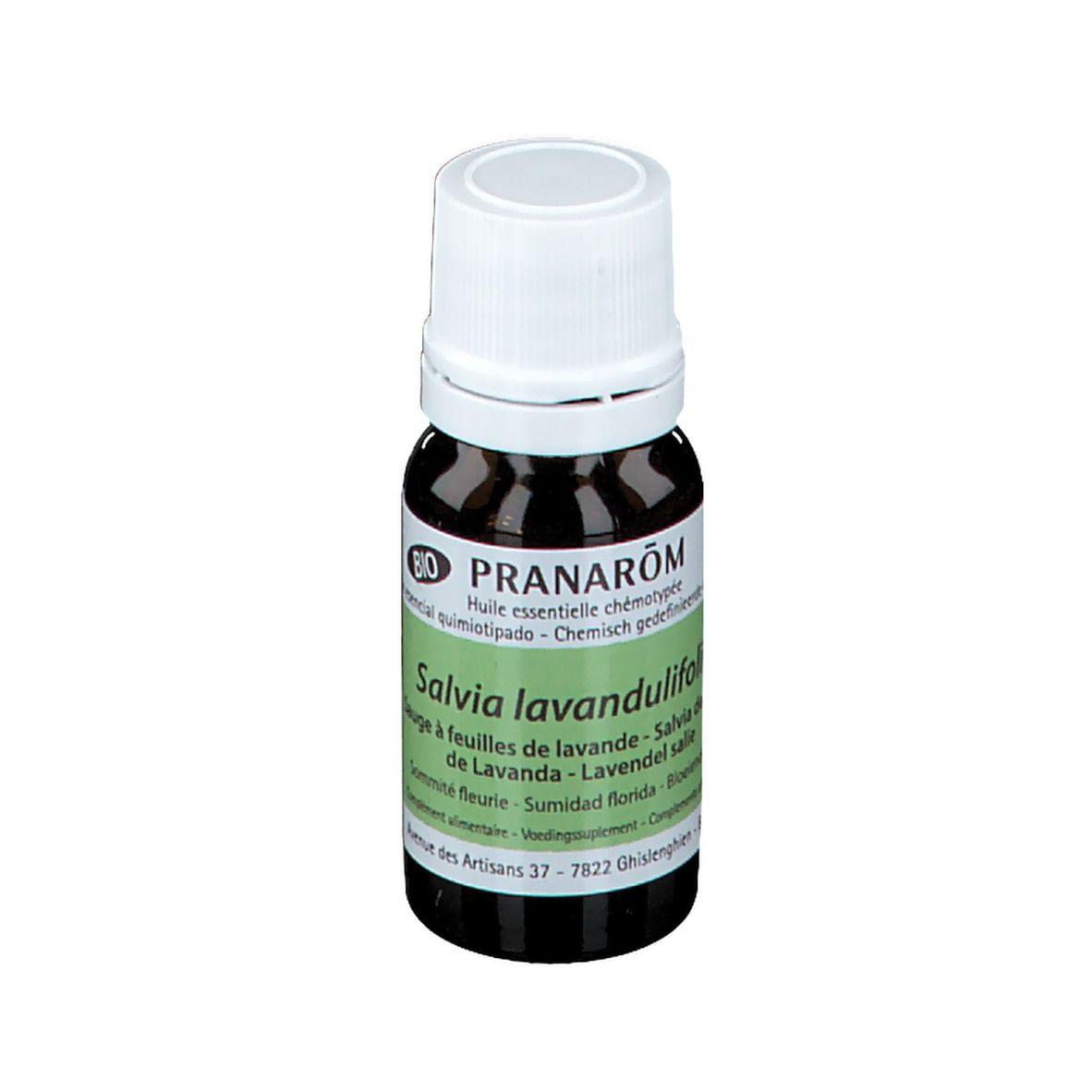 Pranarôm Sauge à feuilles de lavande Huile Essentielle Bio ml huile