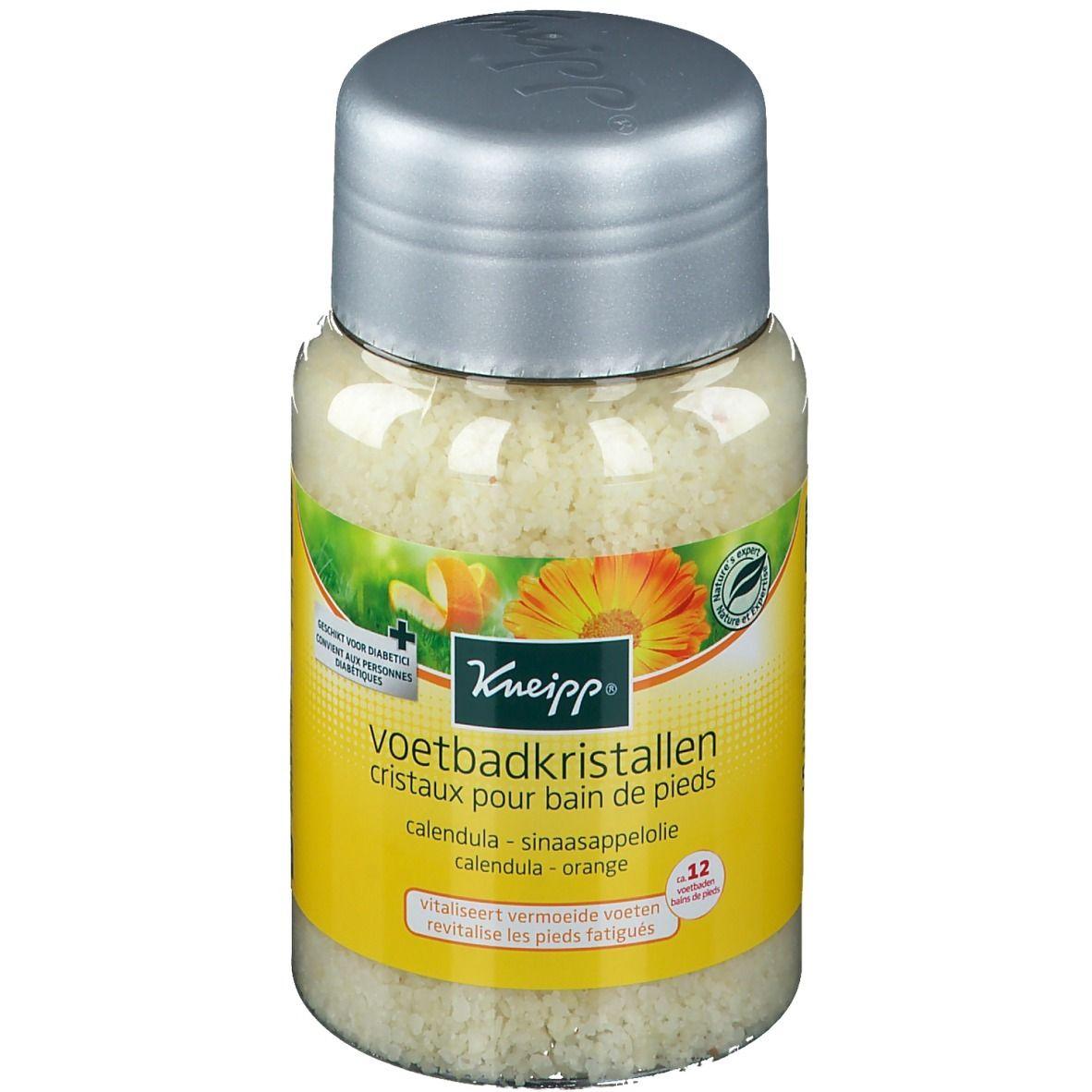 Kneipp® Cristaux pour bain de pieds Calendula - Orange g sel de bain
