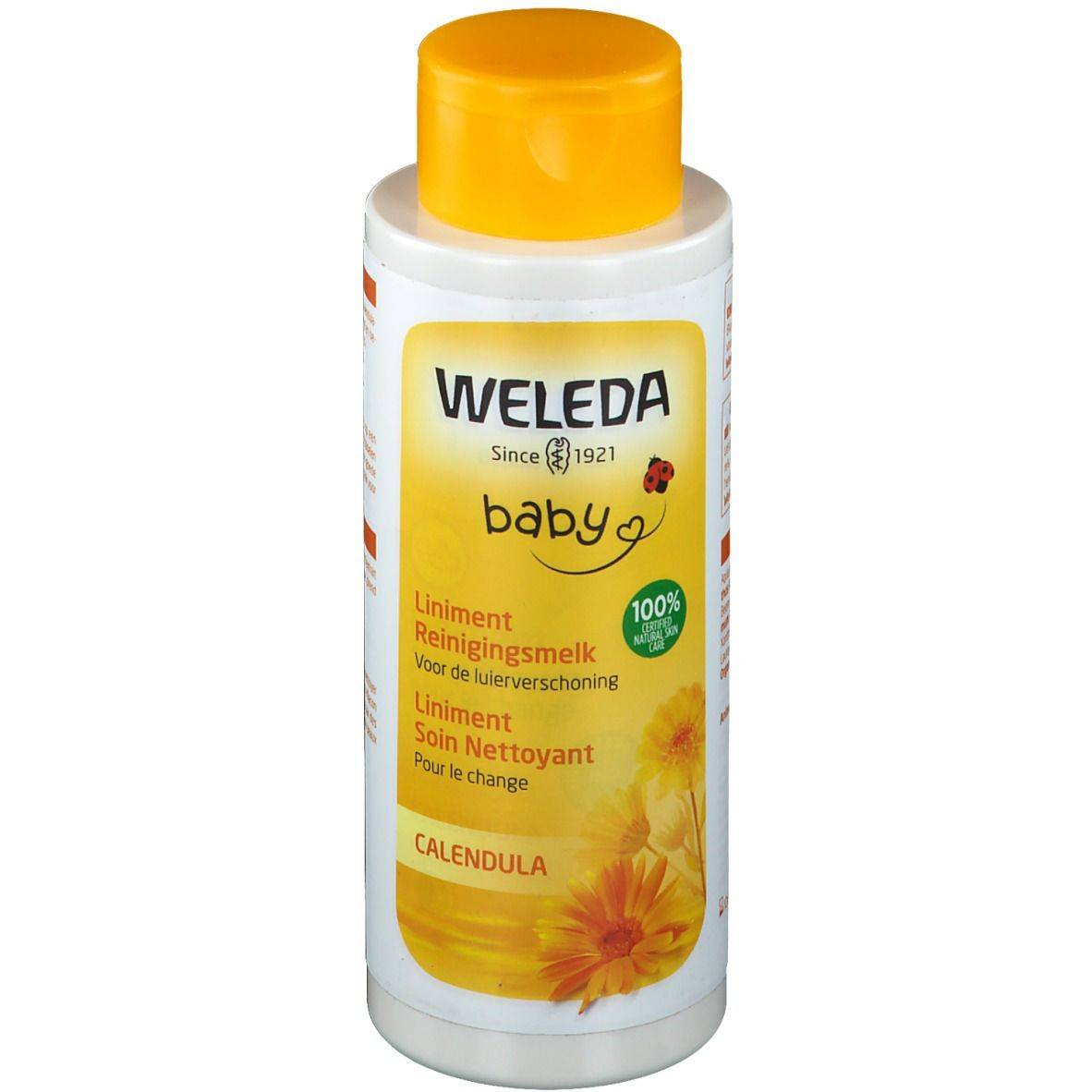 WELEDA Baby Liniment Soin nettoyant pour le Change Calendula ml lait