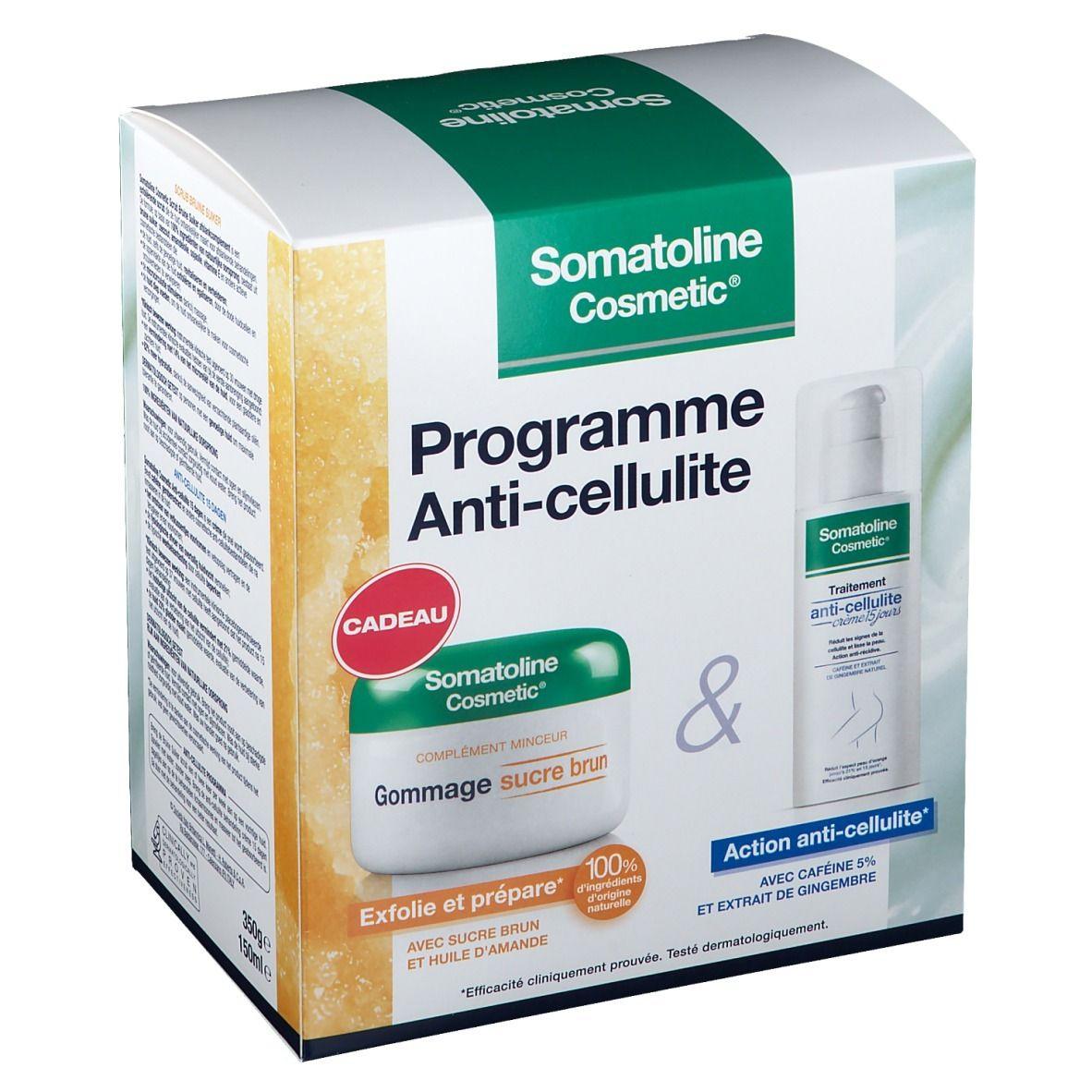 Somatoline Cosmetic® Programme Anti-Cellulite Crème 15 jours + Gommage sucre brun pc(s) set(s)