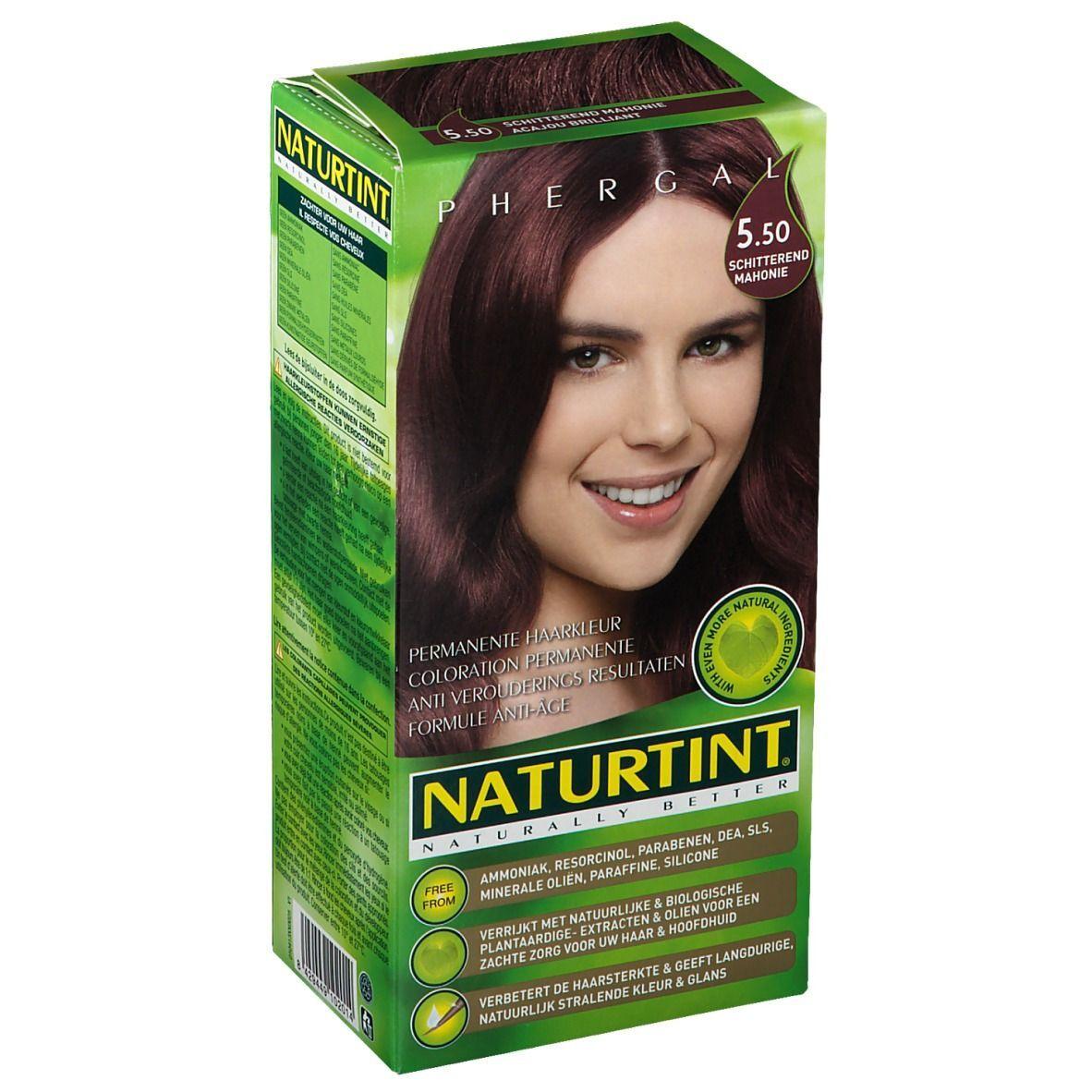 NATURTINT® Coloration Permanente 5.50 Acajou scintillant ml emballage(s) combi