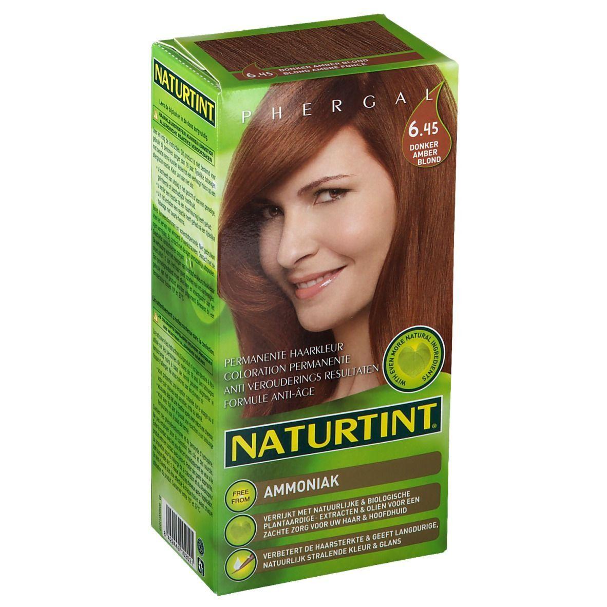 NATURTINT® Coloration Permanente 6.45 Blonde ambre foncé ml emballage(s) combi