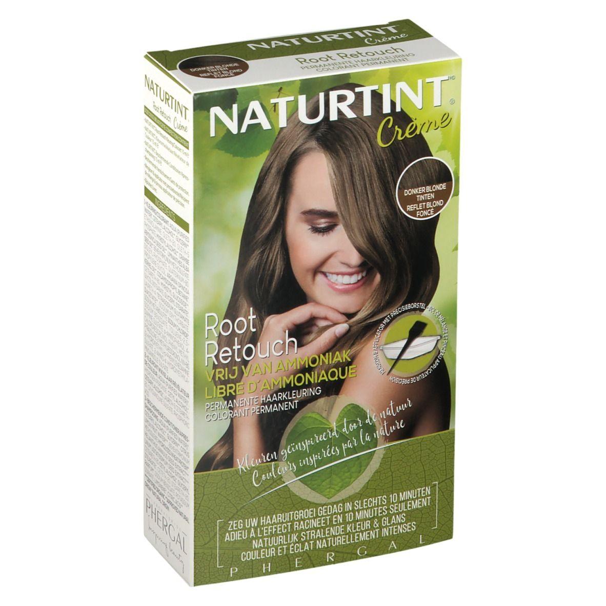 NATURTINT® Root Retouch Crème Coloration Permanente -Reflet Blond foncé ml emballage(s) combi