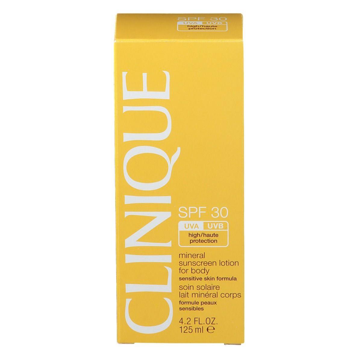 CLINIQUE Sun™ Soin Solaire Minéral Corps SPF 30 ml lotion pour le corps