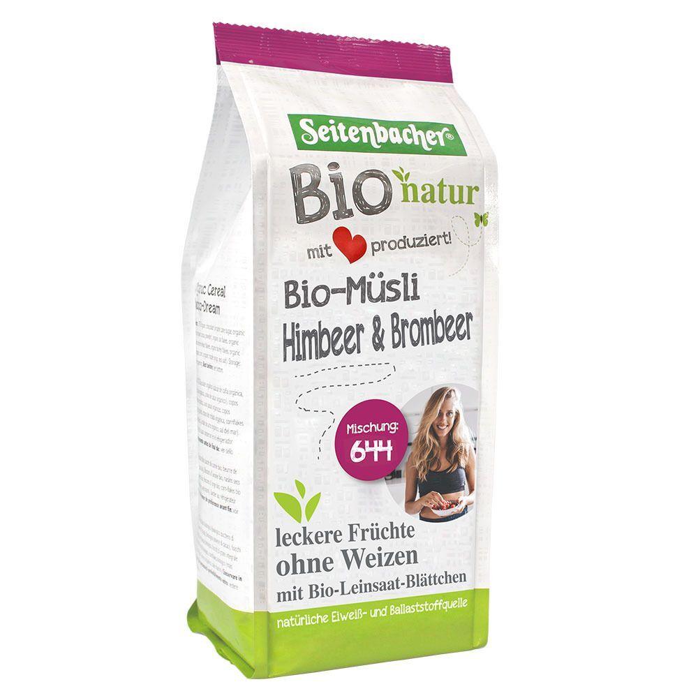 Seitenbacher® Bio Muesli framboises & mûres g céréales
