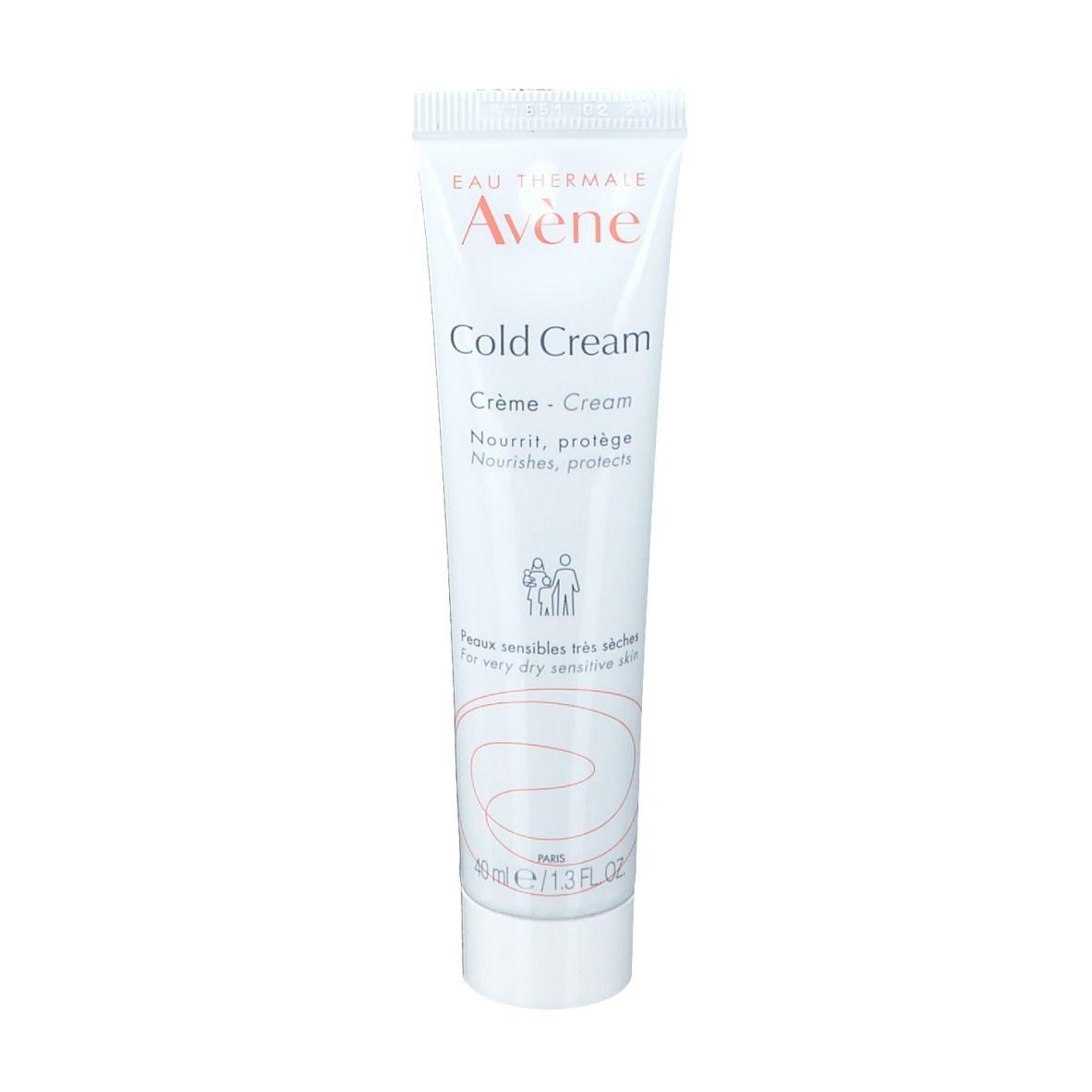 Avène Cold Cream Crème peaux très sèches et sensibles ml crème