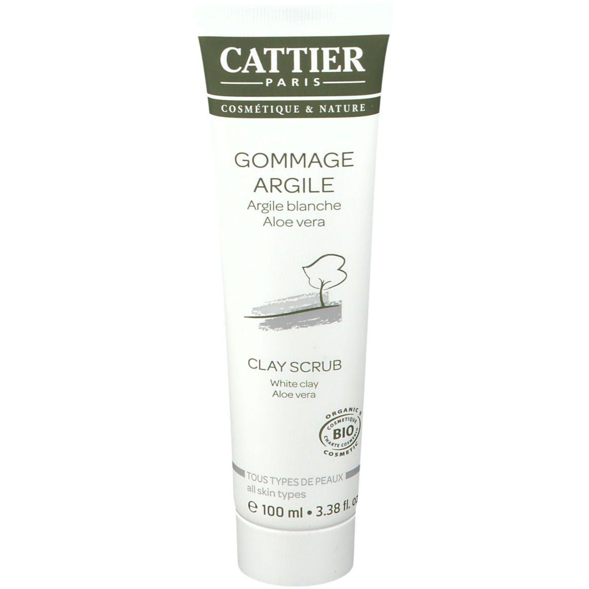 Cattier Gommage à l'argile blanche bio ml produit(s) démaquillant(s)