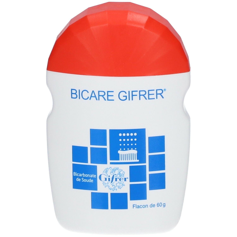 Gifrer Bicare bicarbonate de soude dents blanches et saines g poudre