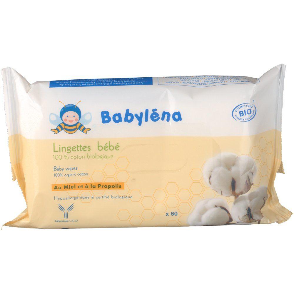 Babyléna Lingettes bébé 100 % coton biologique pc(s) lingette(s)
