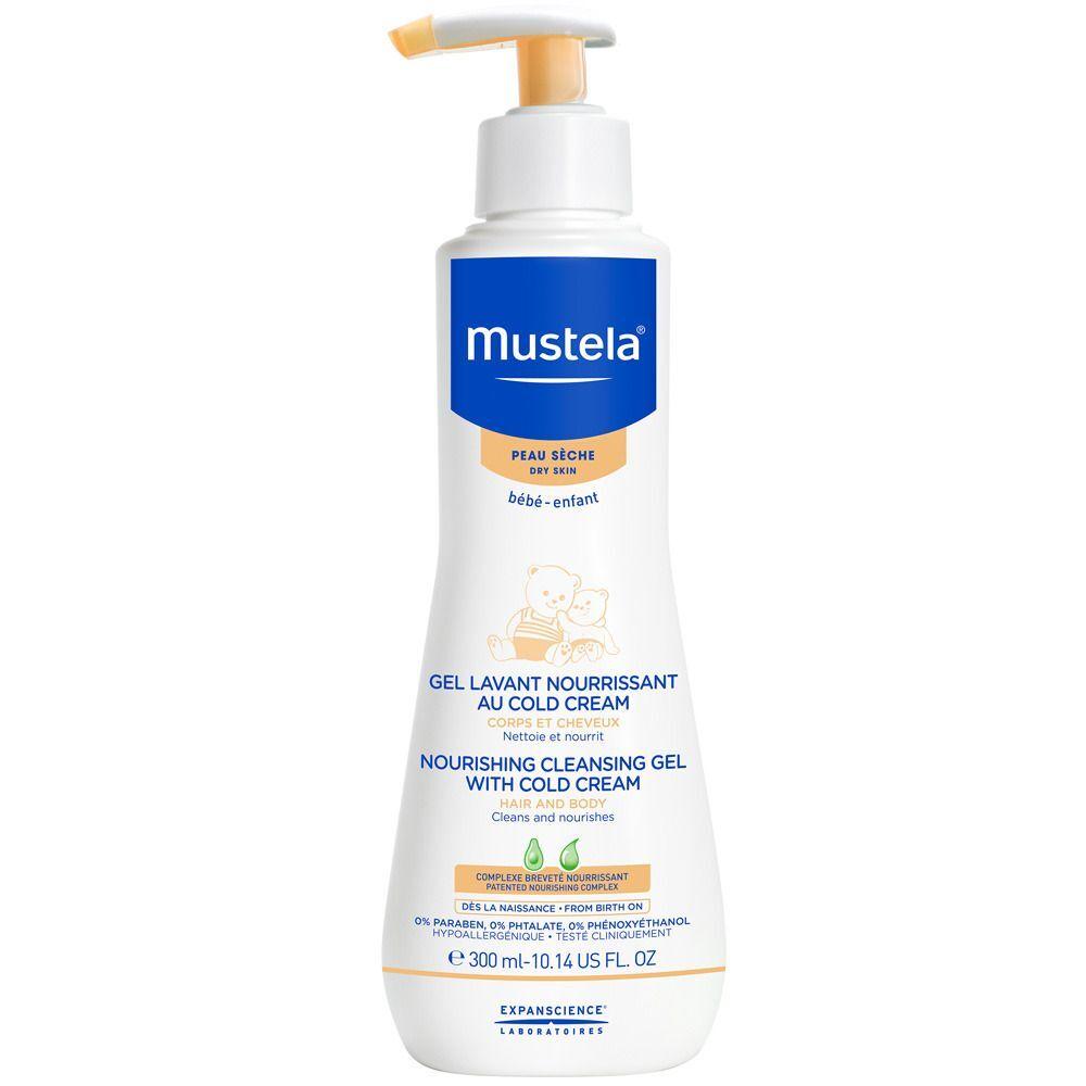 mustela® Bébé - Enfant Gel lavant nourrissant au Cold Cream ml gel nettoyant