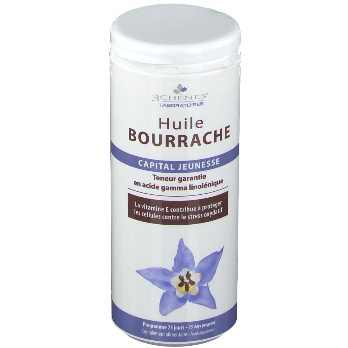 3Chênes® 3 Chênes® Huile Bourrache pc(s) capsule(s) douce(s)