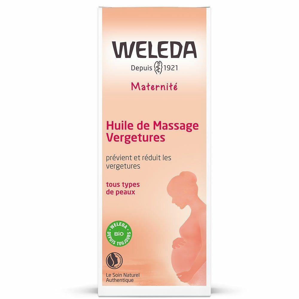 Weleda Huile de Massage Vergetures ml huile de massage