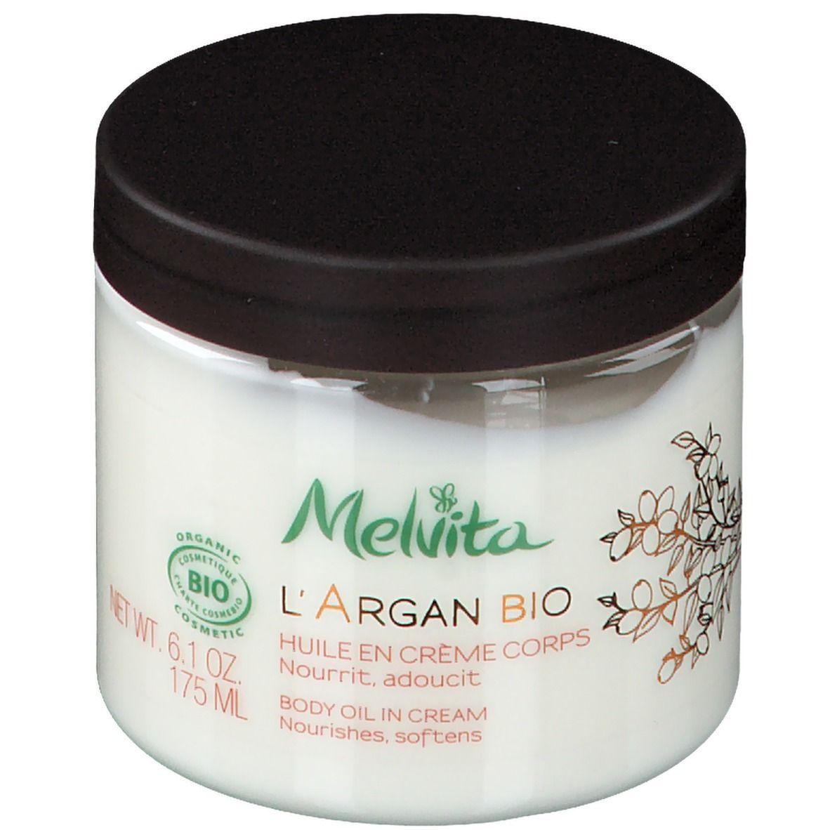 Melvita l'Argan Bio Huile en Crème Corps Bio ml huile