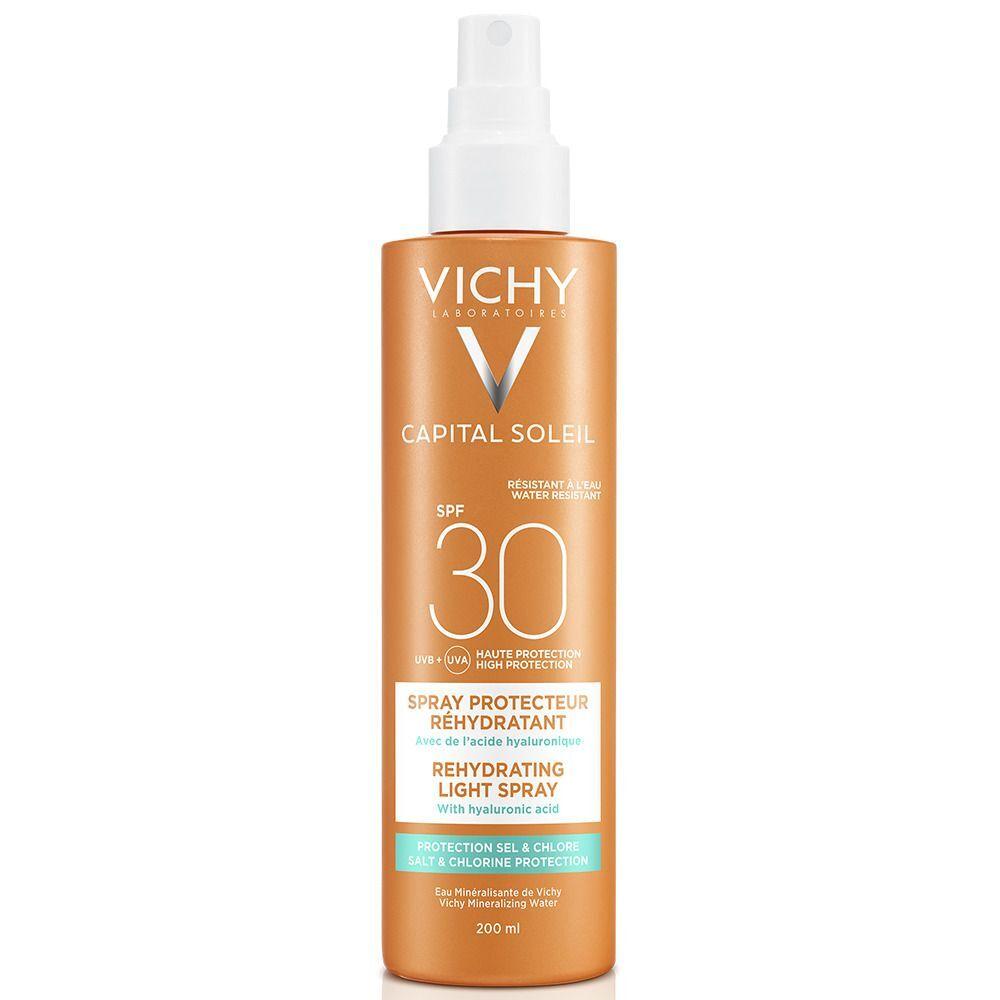 VICHY Capital Soleil Beach Protect Spray solaire anti-déshydratation SPF 30 ml spray