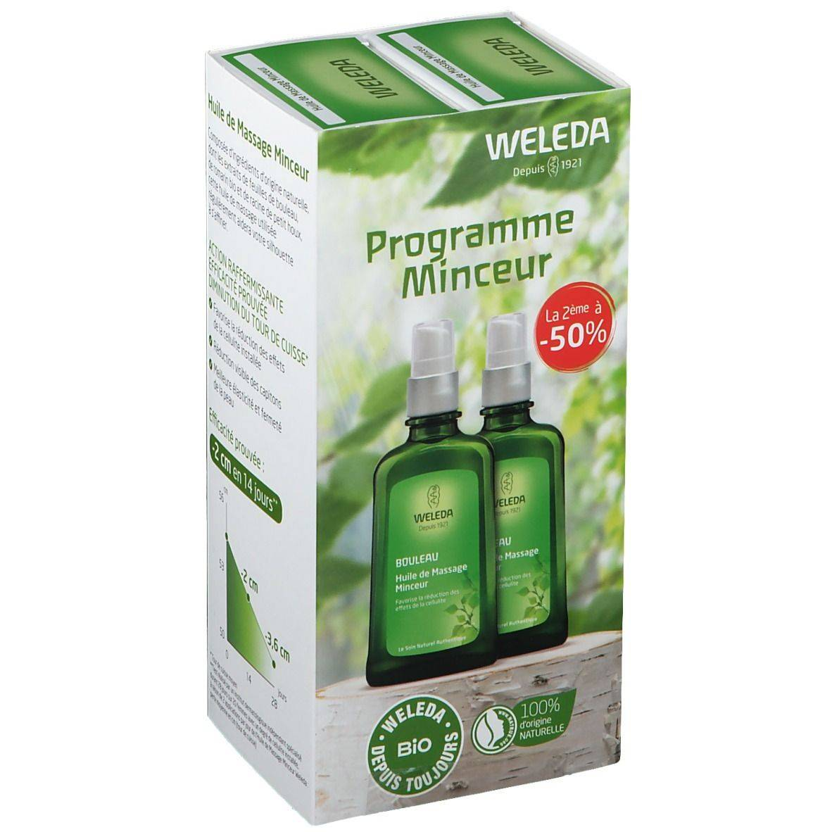 Weleda WEDELA BOULEAU Huile de Massage Minceur ml huile de massage