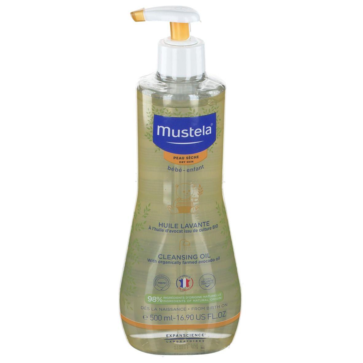 mustela® Huile lavante Bébé ml huile