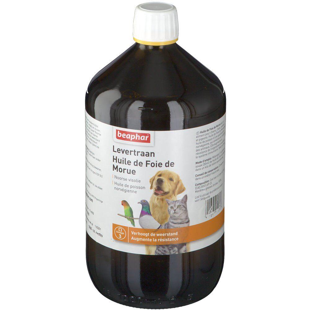 Beaphar huile De Foie De Morue Liquide Animaux l huile