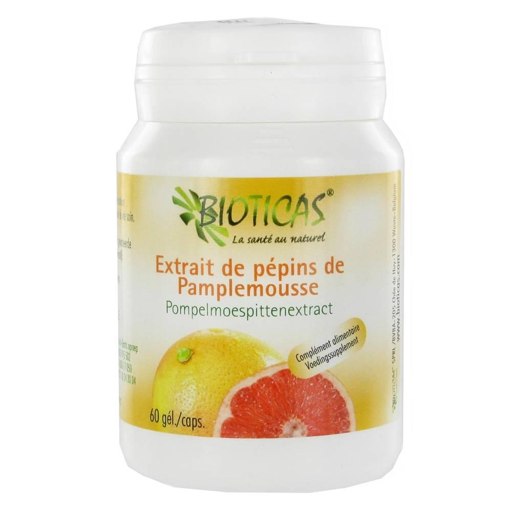 Bioticas® Extrait de pépins de Pamplemousse pc(s) capsule(s)