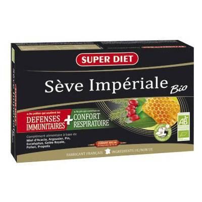 SuperdietLaboratoires Super Diet Sève Impériale Bio pc(s) ampoule(s) buvable(s)