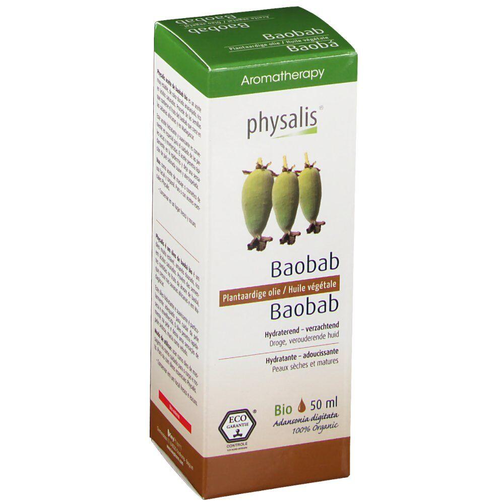 physalis® Physalis Baobab Huile Végétale Bio ml huile