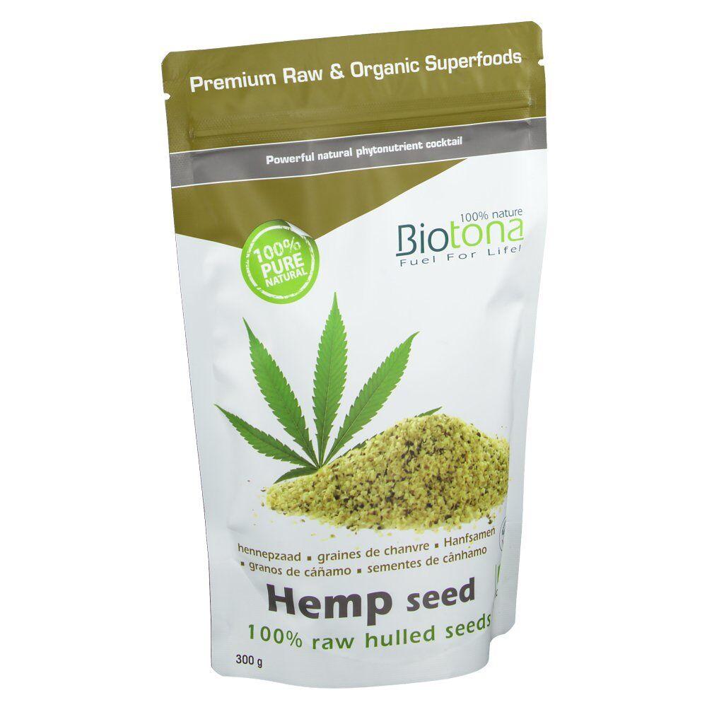 Keypharm Biotona Bio Graines de Chanvres Décortiquées g poudre