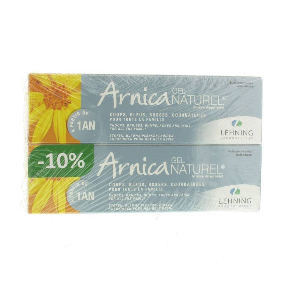 LaboratoiresLehning Arnica Gel Duo Pack g gel(s)