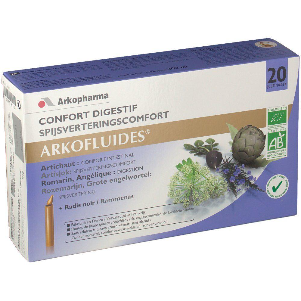 ArkopharmaBelux Arkofluide Digestion Bio pc(s) ampoule(s) buvable(s)