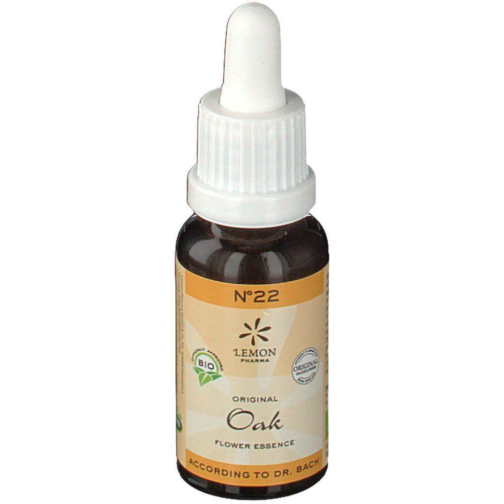 EurekaPharma Lemon Pharma Fleurs de Bach Bio N°22 Oak ml goutte(s)