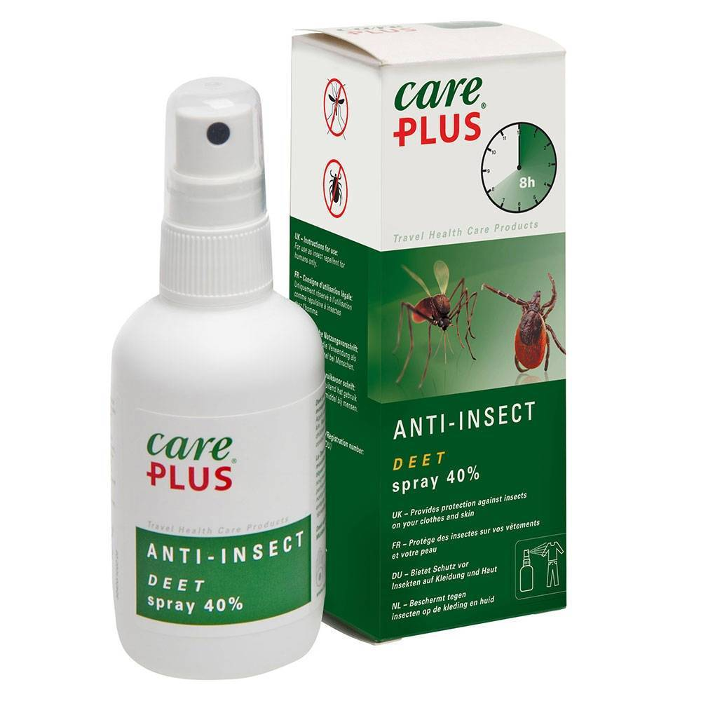 TropenzorgBV Care Plus Anti-Insect Spray 40% DEET ml spray
