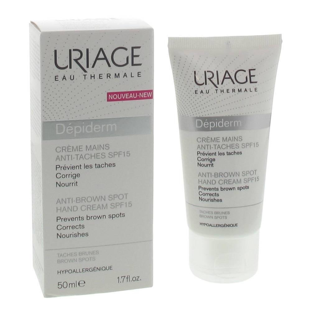 Uriage Dépiderm Crème Mains Anti-Taches SPF15 ml crème