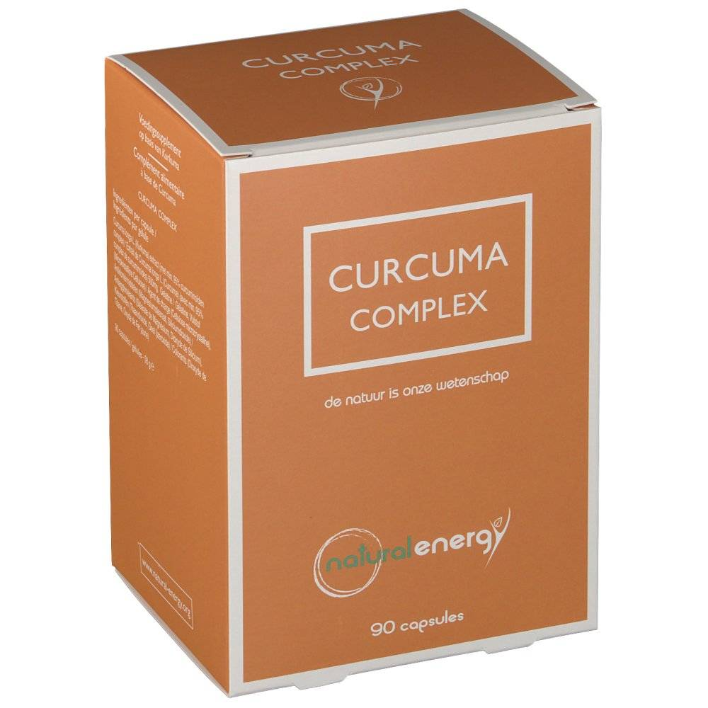 naturalenergy Natural Energy Curcuma Complex 500 mg pc(s) capsule(s)