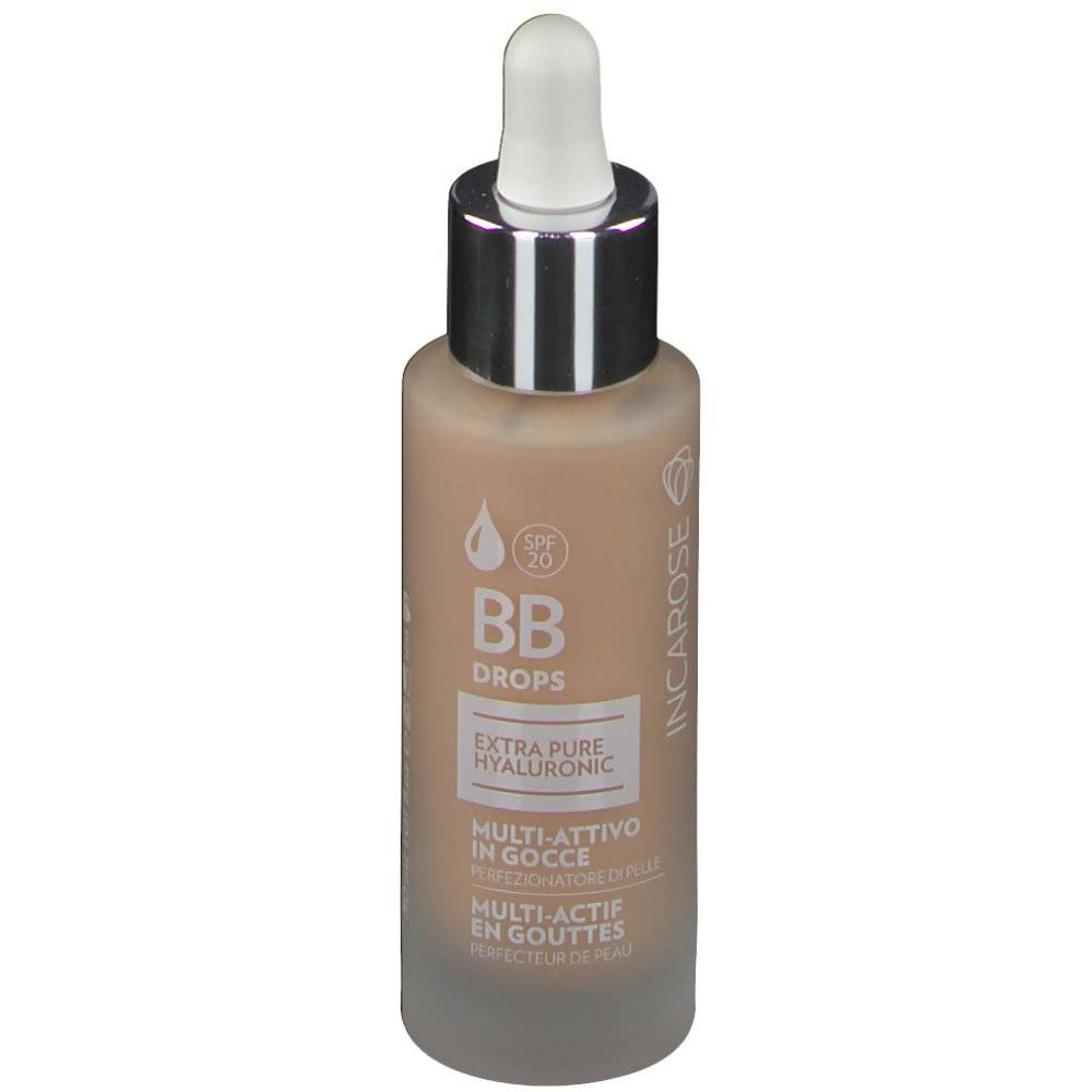 EuropharmaGroup Incarose BB Drops Extra Pure Hyaluronic Light ml fond(s) de teint