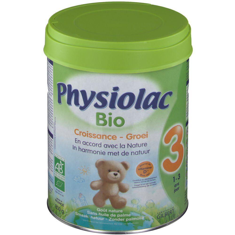 GroupeBatteurBenelux Physiolac Bio 3 g poudre