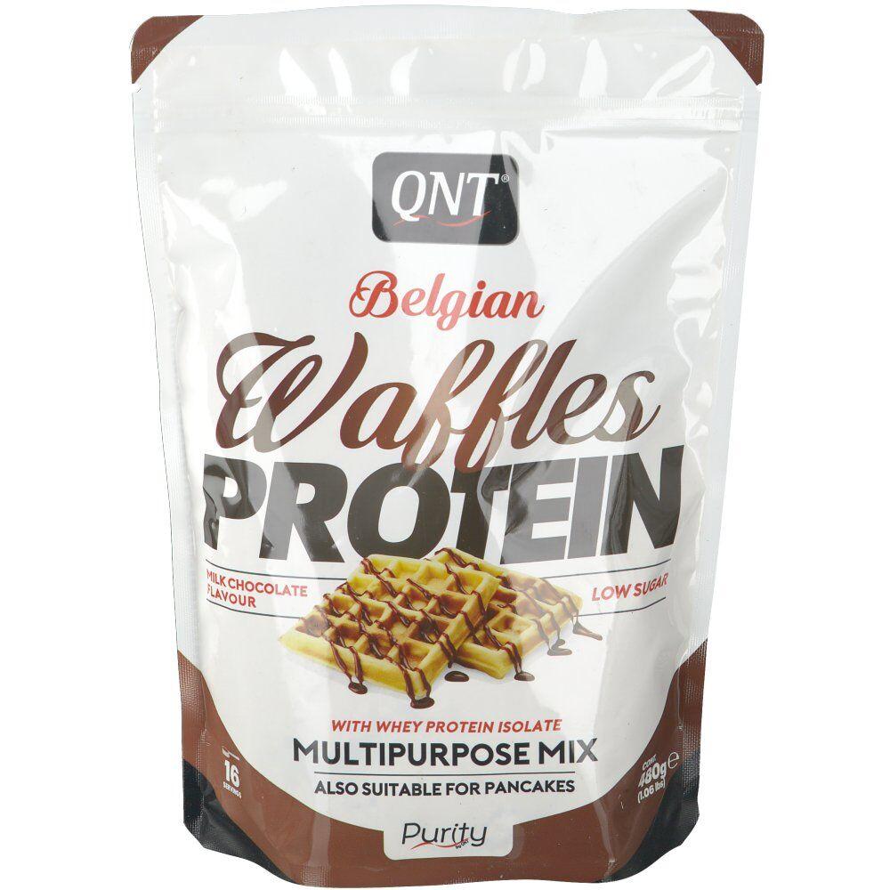 QNT Belgian Waffles Protein Chocolat au lait g poudre