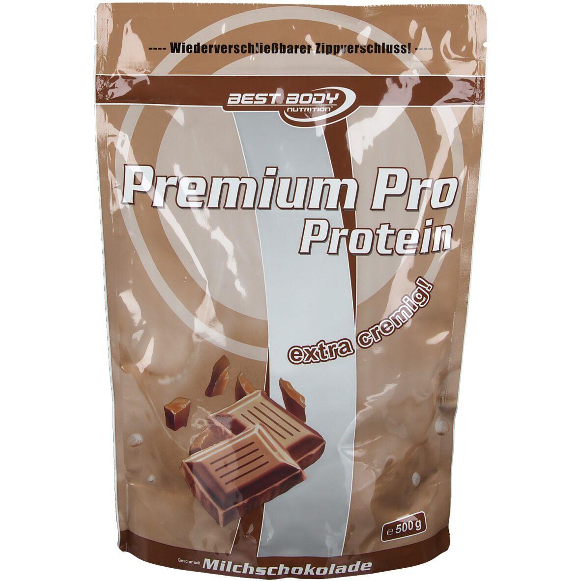 Best Body Nutrition® Best Body Nutrition, Protéine Premium Pro poudre de chocolat au lait g poudre