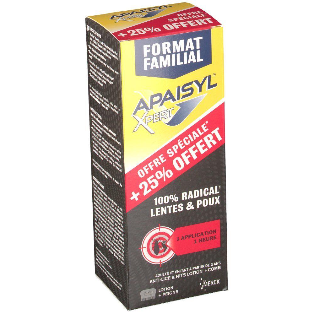 MerckMedicationFamilial Apaisyl® Xpert produit anti poux et lentes ml lotion(s)