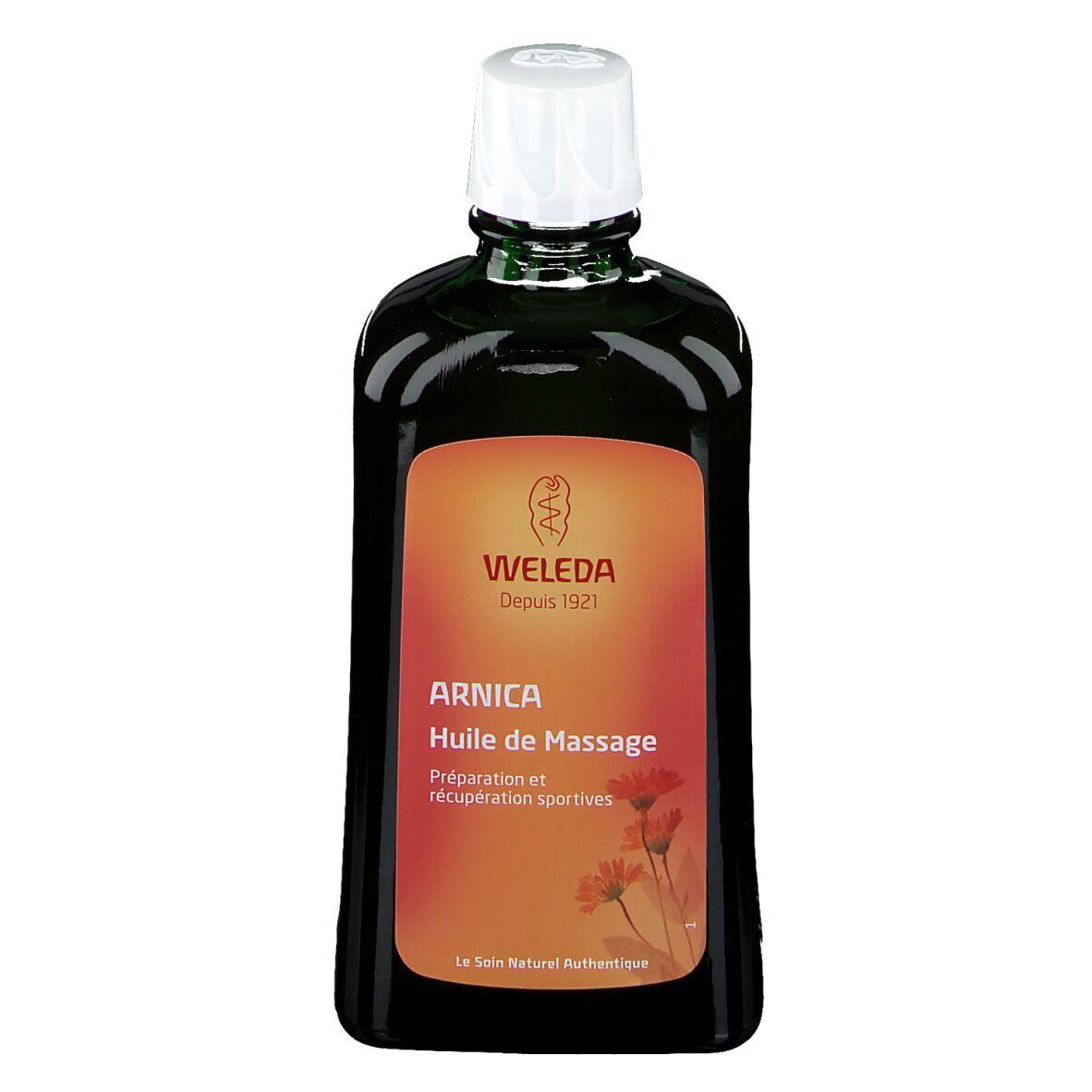 Weleda huile massage à l'arnica ml huile de massage