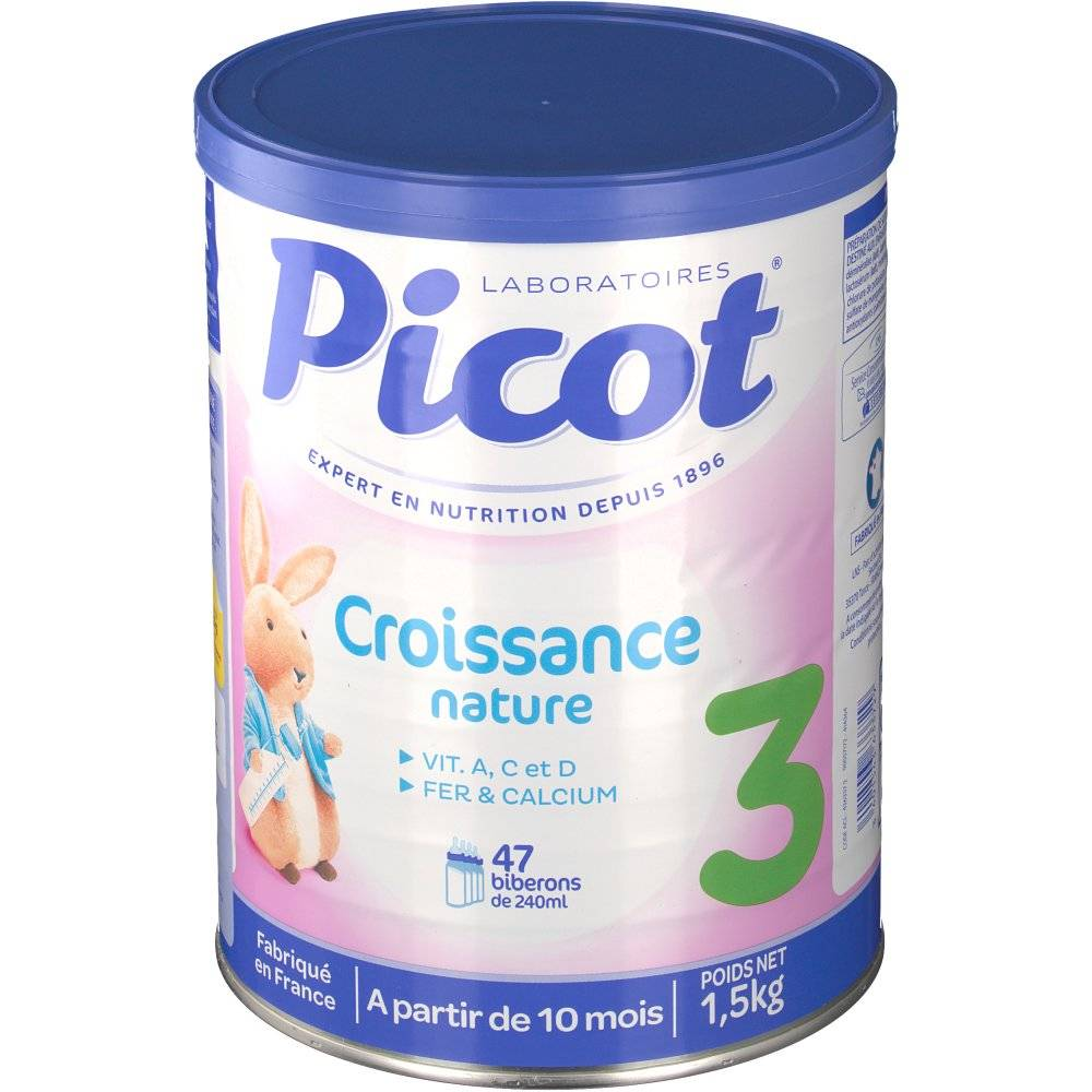 LactalisNutritionSante Picot lait de croissance dès 10 mois g poudre