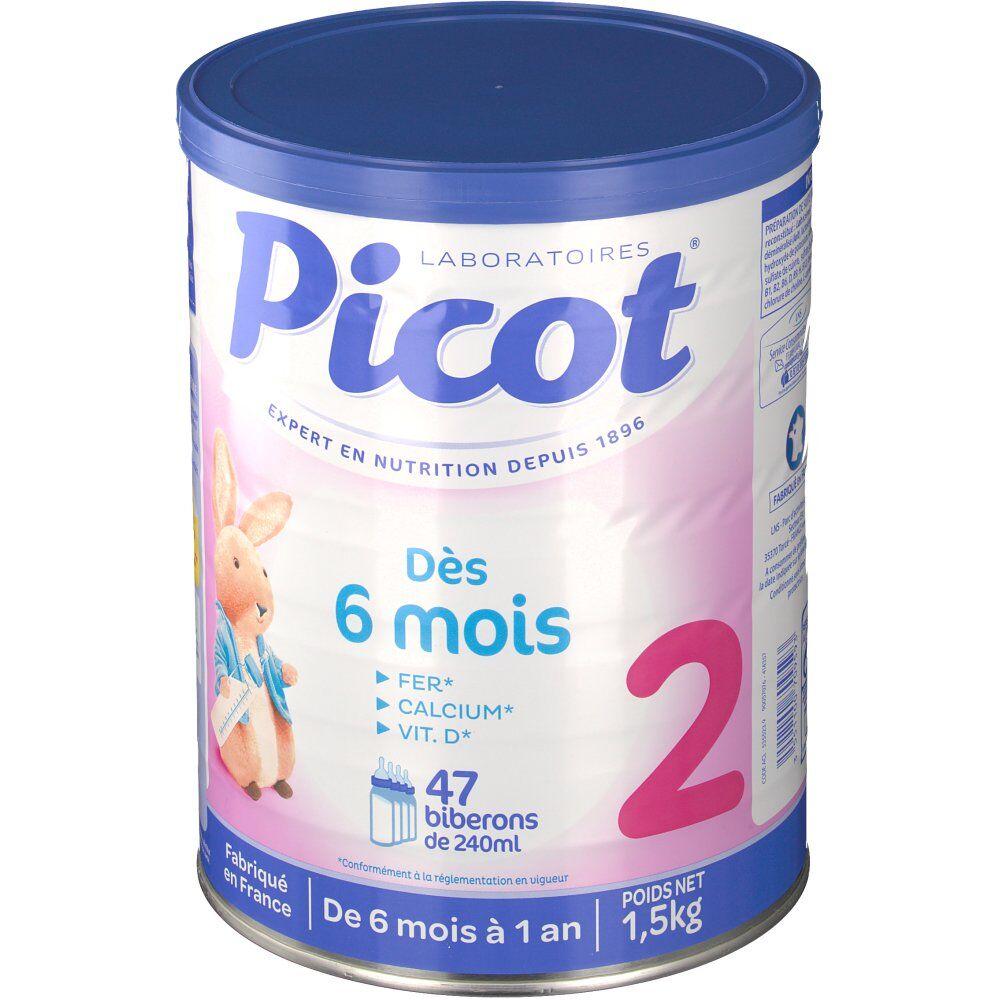 LactalisNutritionSante Picot lait nutrition quotidienne 2ème âge g poudre