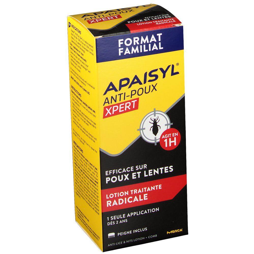 Apaisyl® Xpert produit anti poux et lentes ml lotion(s)
