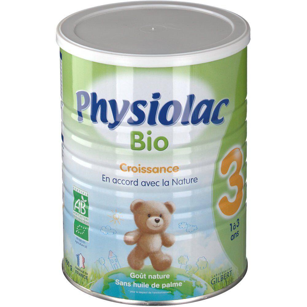 GilbertSanteFamiliale Physiolac Bio 3ème âge g poudre
