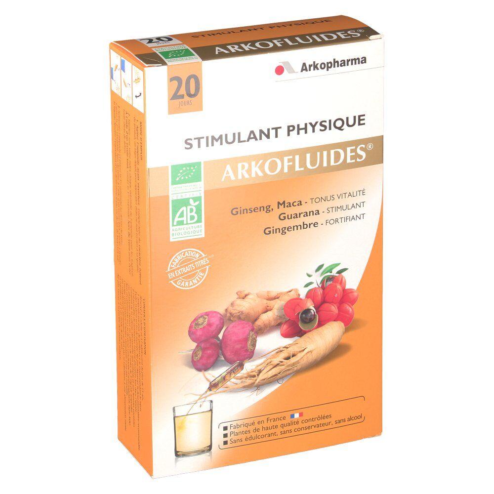 Arkopharma Arkofluides Stimulant Physique Bio ml ampoule(s)