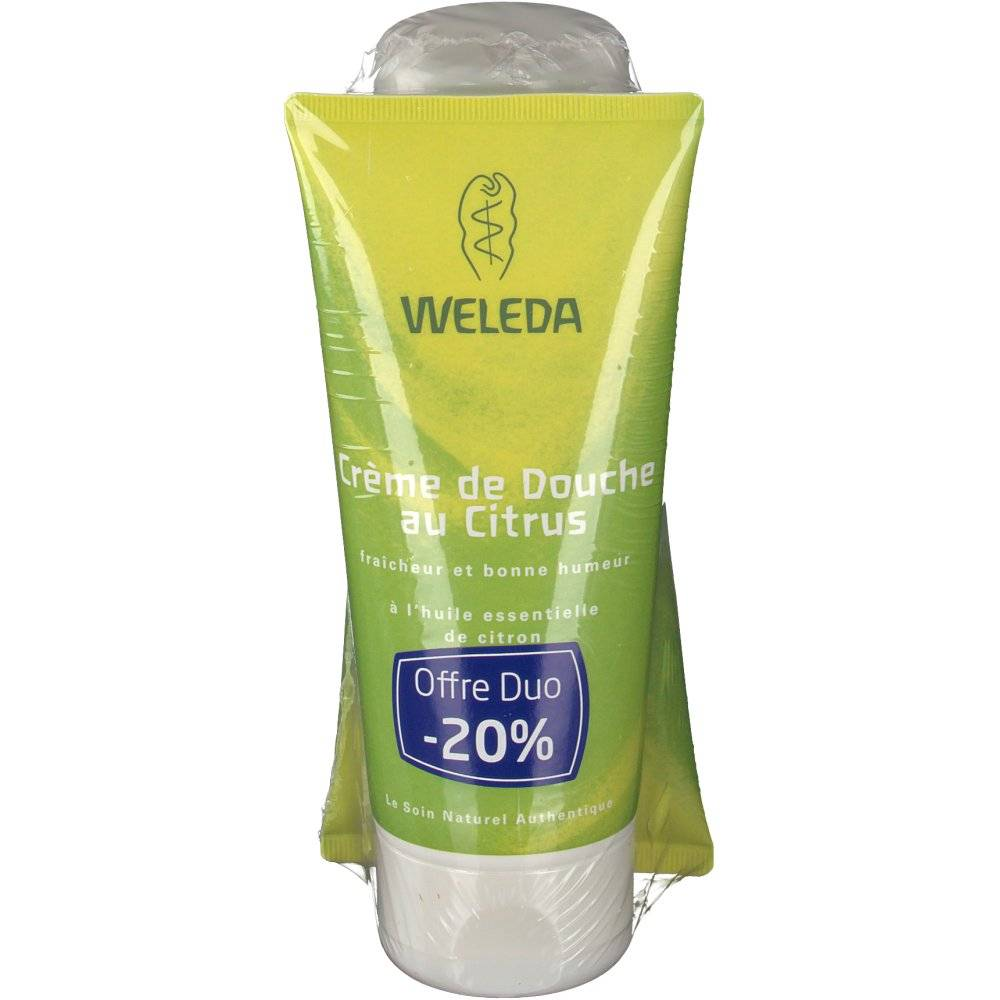 Weleda CITRUS CREME DOUCHE 200ML X2 ml crème