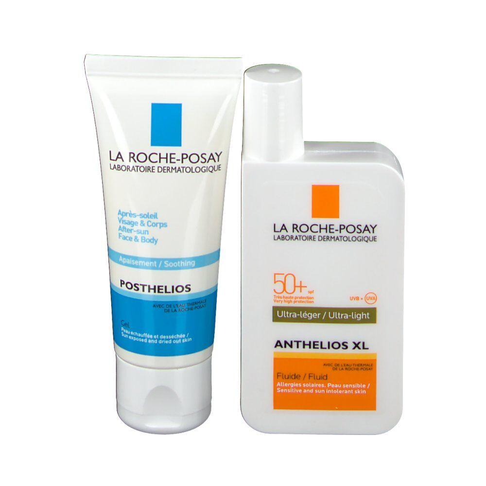 Roche-Posay La Roche Posay Anthelios coffret fluide avec parfum SPF50+ et après solaire pc(s) set(s)